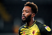 Nathaniel Chalobah of Watford during the Sky Bet Championship behind closed doors match played without supporters with the town in tier 4 of the government covid-19 restrictions, between Watford and Norwich City at Vicarage Road, Watford, England on 26 December 2020. Photo by Andy Rowland.