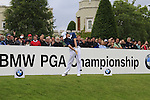 Rory McIlroy (NIR) tees off on the 1st tee to start his round on Day 2 of the BMW PGA Championship Championship at, Wentworth Club, Surrey, England, 27th May 2011. (Photo Eoin Clarke/Golffile 2011)