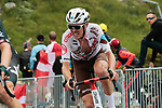 Ben O'Connor (AUS) AG2R Citroën Team on the final climb of Luz-Ardiden during Stage 18 of the 2021 Tour de France, running 129.7km from Pau to Luz-Ardiden, France. 15th July 2021.  <br /> Picture: Colin Flockton   Cyclefile<br /> <br /> All photos usage must carry mandatory copyright credit (© Cyclefile   Colin Flockton)