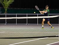 Rotterdam, The Netherlands, 28 Februari 2021, ABNAMRO World Tennis Tournament, Ahoy, Practice.<br /> Photo: www.tennisimages.com