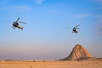 6th January 2021; Wadi Al Dawasir to Riyadh, Saudia Arabia; Dakar 2021 Rally, stage 4;  Landscape during the 4th stage of the Dakar 2021 between Wadi Al Dawasir and Riyadh, in Saudi Arabia on January 6, 2021