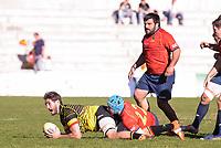 Spain's Thibaut Alvarez during Rugby Europe Championship 2017 match between Spain and Belgium in Madrid. March 18, 2017. (ALTERPHOTOS/Borja B.Hojas) /NORTEPHOTO.COM