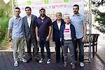 21.06.2012. Press conference presenting MADO'12, Madrid Pride in the SGAE (Madrid). With the presence of Boti G. Rodrigo (president of FELGTB) Raul Garcia (manager of COGAM) Mayka Contreras (president of AEGAL) and Juan Carlos Alonso (coordinator of MADO). (Alterphotos/Marta Gonzalez)