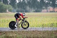 Tobias Bayer (AUT/Alpecin-Fenix)<br /> <br /> World Championships U23 Men - ITT <br /> Time Trial from Knokke-Heist to Bruges (30.3km)<br /> <br /> UCI Road World Championships - Flanders Belgium 2021<br /> <br /> ©kramon