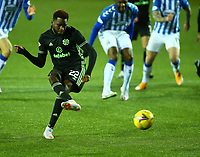2nd February 2021; Rugby Park, Kilmarnock, East Ayrshire, Scotland; Scottish Premiership Football, Kilmarnock versus Celtic; Odsonne Edouard of Celtic makes 2-0 from the penalty spot in the 53rd minute