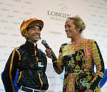 Joao Moreira during the HKJC Race of the Rider during the Longines Masters of Hong Kong on 19 February 2016 at the Asia World Expo in Hong Kong, China. Photo by Li Man Yuen / Power Sport Images