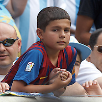 """Future """"Messi"""" looks on. In an international friendly (Clash of Titans), Argentina defeated Brazil, 4-3, at MetLife Stadium on June 9, 2012."""