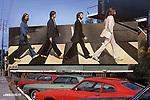Beatles Abbey Road Billboard, Sunset Strip, 1969