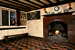 The Castle, Chiddingstone, Kent. Interior with dart board. 1990s 1991