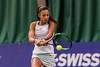Wateringen, The Netherlands, November 27 2019, De Rhijenhof , NOJK 12 and16 years,  Jade Groen (NED)<br /> Photo: www.tennisimages.com/Henk Koster