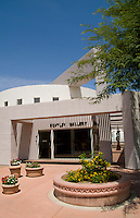 Historic Old Town, Scottsdale, Arizona, USA. Bentley Gallery Museum