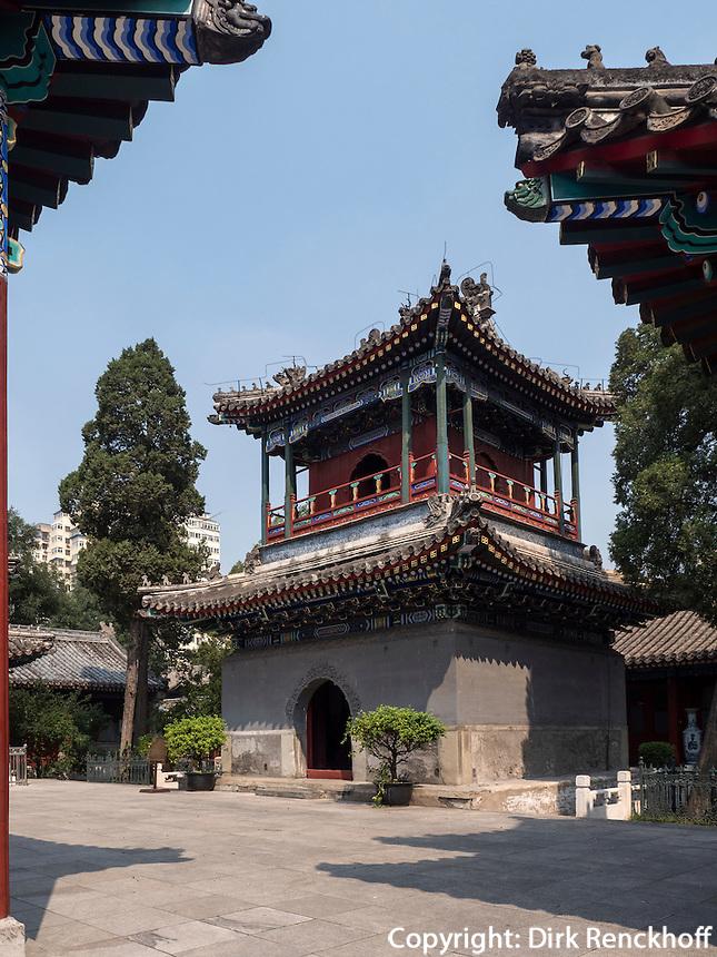 Niujie Moschee in Peking, China, Asien<br /> Niujie Mosque, Beijing, China, Asia