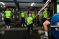 Barrie McKay of Swansea City in the gym during the Swansea City Training at The Fairwood Training Ground in Swansea, Wales, UK.  Wednesday 08 January 2020