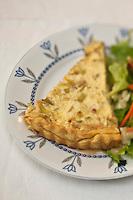 Europe/France/Picardie/80/Somme/Amiens: Flamiche picarde au Restaurant: Chez Maman,le restau brocante de Quentin Gambart