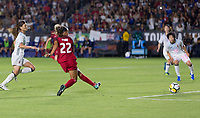 Carson, CA - Thursday August 03, 2017: Mallory Pugh during a 2017 Tournament of Nations match between the women's national teams of the United States (USA) and Japan (JAP) at StubHub Center.