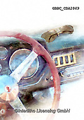 Barry, MASCULIN, MÄNNLICH, MASCULINO, paintings+++++,GBBCCDA1049,#m#, EVERYDAY ,car,race,motosport,