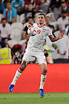 Ismail Ahmed Mohamed of United Arab Emirates in action during the AFC Asian Cup UAE 2019 Semi Finals match between Qatar (QAT) and United Arab Emirates (UAE) at Mohammed Bin Zaied Stadium  on 29 January 2019 in Abu Dhabi, United Arab Emirates. Photo by Marcio Rodrigo Machado / Power Sport Images