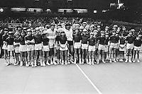 1978, ABN Tennis Toernooi, Jimmy Connors en Ramirez tussen de ballenkinderen