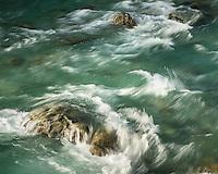 Route Burn River, Mount Aspiring National Park, Central Otago, New Zealand, NZ