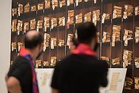 Wiedereroeffnung des Juedischen Muesum in Berlin.<br /> Im Bild: Ein Bild eines Regals mit Entschaedigungsakten.<br /> 18.8.2020, Berlin<br /> Copyright: Christian-Ditsch.de<br /> NUR FUER REDAKTIONELLE ZWECKE! Werbung nur auf Anfrage beim Fotografen. [Inhaltsveraendernde Manipulation des Fotos nur nach ausdruecklicher Genehmigung des Fotografen. Vereinbarungen ueber Abtretung von Persoenlichkeitsrechten/Model Release der abgebildeten Person/Personen liegen nicht vor. NO MODEL RELEASE! Don't publish without copyright Christian-Ditsch.de, Veroeffentlichung nur mit Fotografennennung, sowie gegen Honorar, MwSt. und Beleg. Konto: I N G - D i B a, IBAN DE58500105175400192269, BIC INGDDEFFXXX, Kontakt: post@christian-ditsch.de<br /> Bei der Bearbeitung der Dateiinformationen darf die Urheberkennzeichnung in den EXIF- und  IPTC-Daten nicht entfernt werden, diese sind in digitalen Medien nach §95c UrhG rechtlich geschuetzt. Der Urhebervermerk wird gemaess §13 UrhG verlangt.]