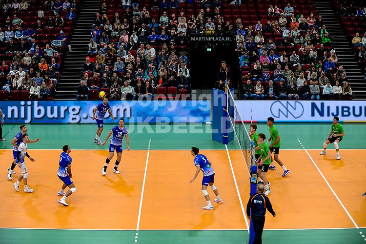 GRONINGEN - Volleybal, Lycurgus - SSS , Eredivisie, Martiniplaza, seizoen 2021-2022,  03-10-2021,  publiek op de tribune
