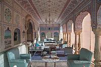 Inside the Samode Palace, Samode, Rajasthan