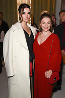 Margaret Clunie and Nell Hudson<br /> at the Jasper Conran SS18 Show as part of London Fashion Week, London<br /> <br /> <br /> ©Ash Knotek  D3308  16/09/2017