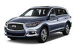 2016 Infiniti QX60 - 5 Door Suv Angular Front stock photos of front three quarter view