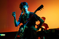 Euros Childs performs at Cinema and Co in Swansea, Wales, UK. Saturday 09 December 2017