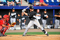 2 March 2011: Florida Marlins catcher Brett Hayes in action during a Spring Training game against the Washington Nationals at Space Coast Stadium in Viera, Florida. The Nationals defeated the Marlins 8-4 in Grapefruit League action. Mandatory Credit: Ed Wolfstein Photo