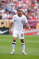 Landon Donovan. The USMNT defeated Turkey, 2-1, at Lincoln Financial Field in Philadelphia, PA.