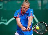 11-07-13, Netherlands, Scheveningen,  Mets, Tennis, Sport1 Open, day four,Peter Gojowczyk (GER)<br /> <br /> <br /> Photo: Henk Koster