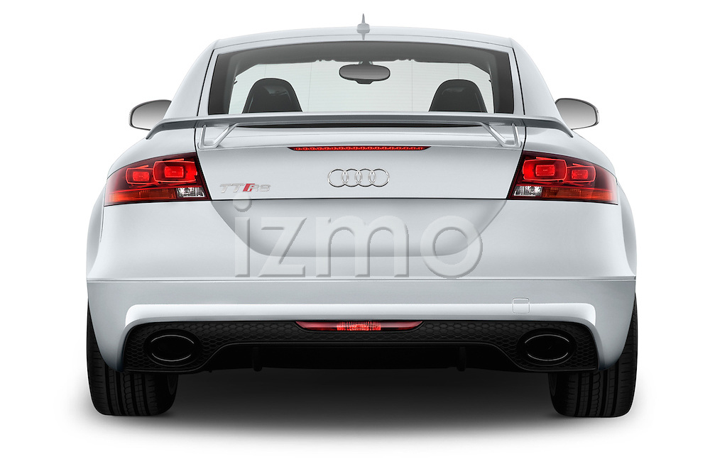 Straight rear view of a 2010 - 2014 Audi TT RS 3 Door Coupe 4WD.