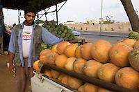 Tripoli, Libya - Egyptian Melon Vendor