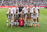 CARSON, CA - FEBRUARY 9: The USWNT poses for the starting XI photo during a game between Canada and USWNT at Dignity Health Sports Park on February 9, 2020 in Carson, California.