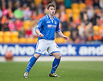 St Johnstone v Dundee United...19.04.14    SPFL<br /> Craig Thomson makes his senior debut after coming on as a late sub for David Wotherspoon<br /> Picture by Graeme Hart.<br /> Copyright Perthshire Picture Agency<br /> Tel: 01738 623350  Mobile: 07990 594431