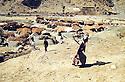 Iran 1982.The camp of the smugglers near the Iraqi border<br /> Iran 1982  Le camp des contrebandiers près de la frontière irakienne.