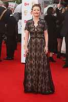 Leslie Manville<br />  arriving at the Bafta Tv awards 2017. Royal Festival Hall,London  <br /> ©Ash Knotek