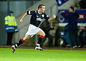 FALKIRK'S MARK MILLAR CELEBRATES AFTER HE SCORE THE WINNER