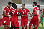 Naft Tehran vs Al Ahli (UAE) during the 2015 AFC Champions League Quarter Final 1st leg on August 26, 2015 at the Azadi Stadium in Tehran, Iran. Photo by Adnan Hajj /  World Sport Group