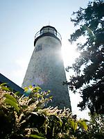 USA, Neuengland, Dice Head Light in Castine, 02.09.2010<br /> <br /> Engl.: USA, New England, Castine, Dice Head Light, lighthouse, 02 September 2010