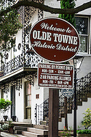 Old town historic district, Portsmouth, Virginia, USA
