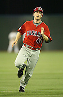 March 7, 2009:  Center Fielder Jason Bay (44) of Canada during the first round of the World Baseball Classic at the Rogers Centre in Toronto, Ontario, Canada.  Team USA defeated Canada 6-5 in both teams opening game of the tournament.  Photo by:  Mike Janes/Four Seam Images