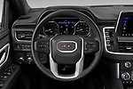 Car pictures of steering wheel view of a 2021 GMC Yukon SLT 5 Door SUV Steering Wheel