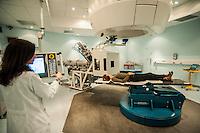 A Pavia dal 2011 è attivo il CNAO Centro Nazionale di Adroterapia Oncologica, per la cura dei tumori con la radioterapia che utilizza le particelle più pesanti degli elettroni, chiamati adroni che vengono prodotti dal grande impianto del Sincrotone  ed inviati nelle tre sale di trattamento