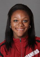 STANFORD, CA - SEPTEMBER 29:  Alyssa Wisdom of the Stanford Cardinal during track and field picture day on September 29, 2009 in Stanford, California.