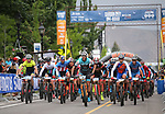 The pro men's race starts at the Carson City Off-Road, Nev., on Sunday, June 17, 2018. <br />Photo by Cathleen Allison/Nevada Momentum