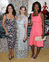 """HOLLYWOOD, LOS ANGELES, CA, USA - MARCH 24: Julia Louis-Dreyfus, Anna Chlumsky, Sufe Bradshaw at the Los Angeles Premiere Of HBO's """"Veep"""" 3rd Season held at Paramount Studios on March 24, 2014 in Hollywood, Los Angeles, California, United States. (Photo by Xavier Collin/Celebrity Monitor)"""