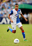 SO KON PO, HONG KONG - JULY 30: Martin Olsson of Blackburn Rovers in action against Kitchee during the Asia Trophy pre-season friendly match at the Hong Kong Stadium on July 30, 2011 in So Kon Po, Hong Kong.  Photo by Victor Fraile / The Power of Sport Images