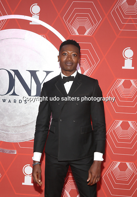 Ato Blankson-Wood attends the 74th Tony Awards-Broadway's Back! arrivals at the Winter Garden Theatre in New York, NY, on September 26, 2021.